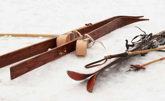 staré lyže