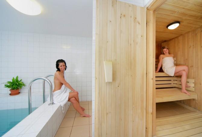 Sauna s bazénkem